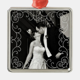 Newly Wed Photograph Ornament