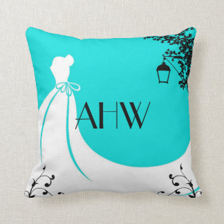 Newly Wed Throw Pillow