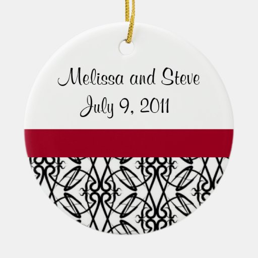 Newlyweds First Christmas Ornament