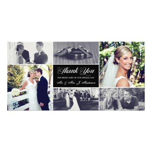 Newlyweds Thank You Photo Card