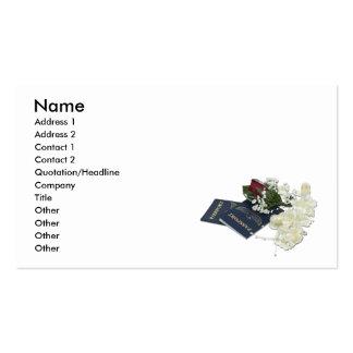 NewlywedsTraveling101610, Name, Address 1, Addr... Pack Of Standard Business Cards