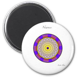 Newness Mandala 6 Cm Round Magnet