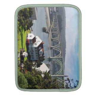 Newport Bayfront, Oregon Coast iPad Sleeve
