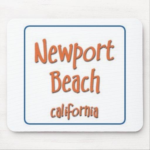 Newport Beach CAlifornia BlueBox Mousepad