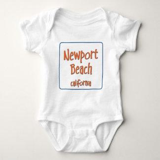 Newport Beach CAlifornia BlueBox Tshirt
