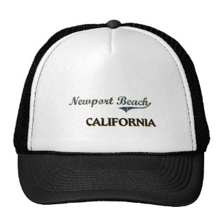 Newport Beach California City Classic Cap