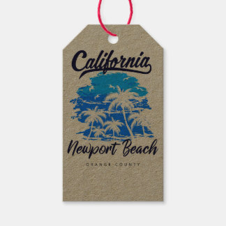 Newport Beach California Gift tag