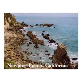 Newport Beach California Gold Coast Postcard OC