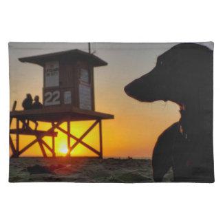 Newport Beach Sunset Placemat
