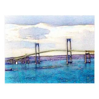 Newport Bridge Postcard