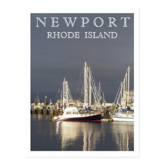 Newport Harbor Postcard