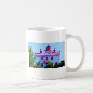 Newport Lighthouse at Yaquina Bay Coffee Mug