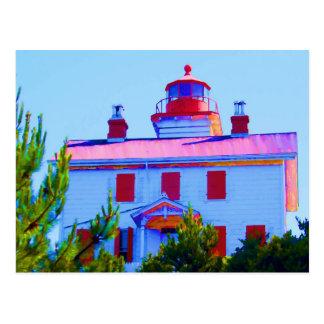 Newport Lighthouse Postcard
