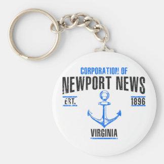 Newport News Key Ring