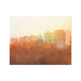 NEWPORT NEWS SKYLINE-In the Clouds Canvas