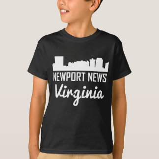 Newport News Virginia Skyline T-Shirt