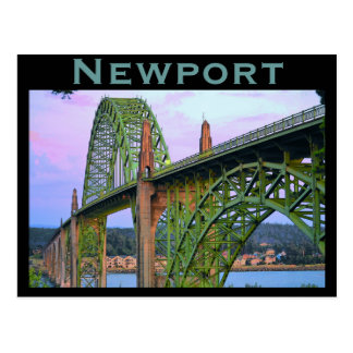 Newport (OR) Postcard