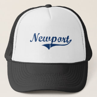 Newport Rhode Island Classic Design Trucker Hat