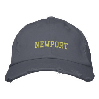 Newport Rhode Island Hat Embroidered Hats