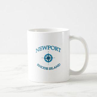 Newport Rhode Island Nautical Coffee Mug