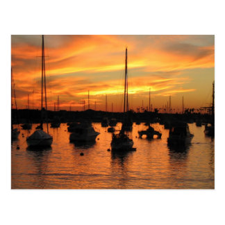 Newport Sunset Postcard