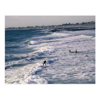 Newport Surf Postcard