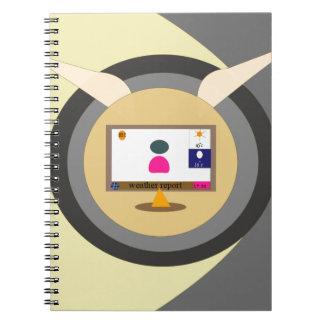 news1 spiral notebook