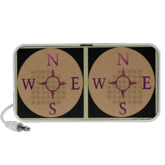 NEWS : East West North South iPhone Speaker