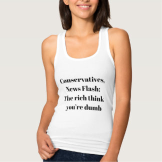 News Flash: The Rich Think You're Dumb Singlet