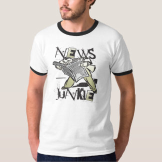 News Junkie T-Shirt