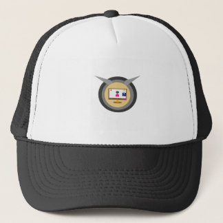 news trucker hat