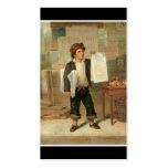 Newsboy Selling New-York Herald, circa 1857.