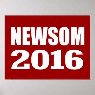 NEWSOM 2016 PRINT