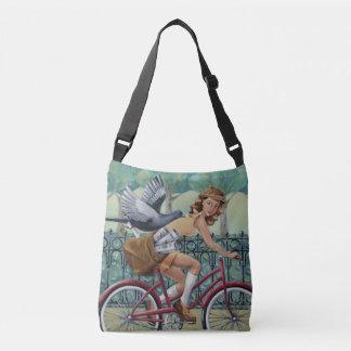 Newspaper Girl Crossbody Bag