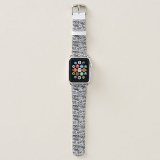 Newspaper printed collage Apple Watch Band