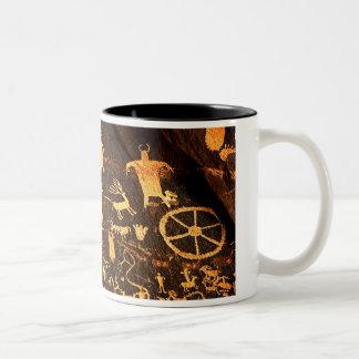 Newspaper Rock Art Coffee Mug