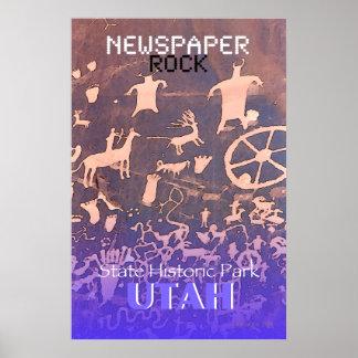 Newspaper Rock Poster