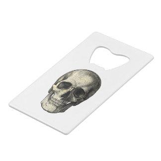 Newspaper skull