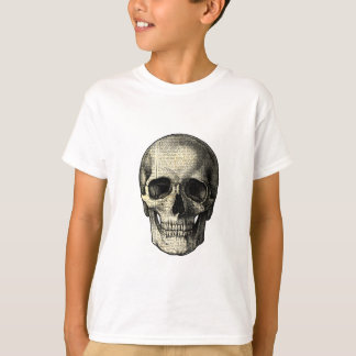 Newspaper skull T-Shirt