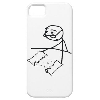 Newspaper Tear Guy Barely There iPhone 5 Case