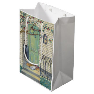 Newspaper & Umbrella Porch Gift Bag