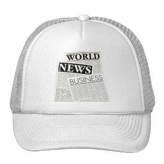 Newspapers Cap