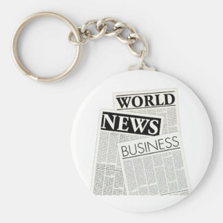 Newspapers Key Ring