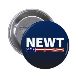 Newt 2012 6 cm round badge