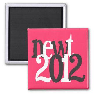 newt 2012 square magnet