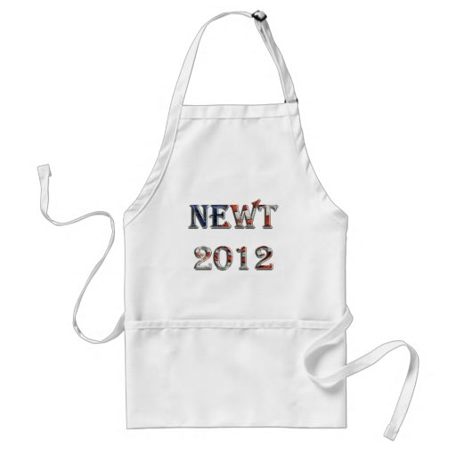 Newt 2012 - Newt Gingrich for President Apron