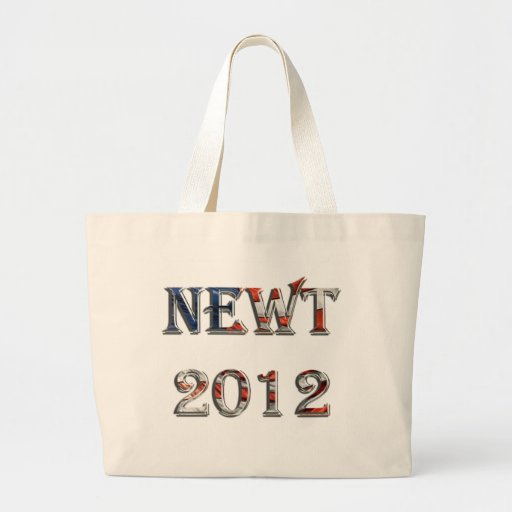 Newt 2012 - Newt Gingrich for President Tote Bags