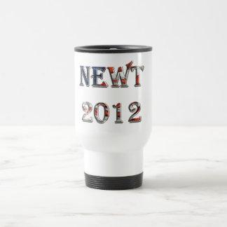 Newt 2012 - Newt Gingrich for President Stainless Steel Travel Mug
