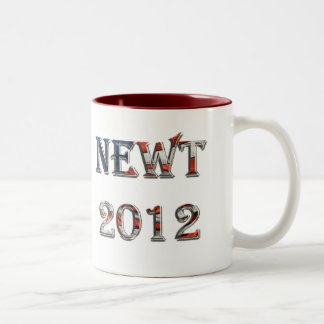 Newt 2012 - Newt Gingrich for President Two-Tone Mug