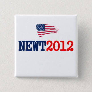 Newt 2012 RW&B 15 Cm Square Badge
